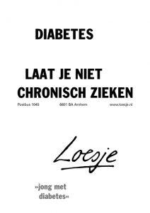 Chronische ziekten en Loesje